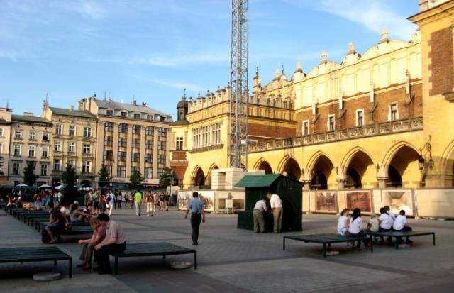 Rynek w Krakowie, autor: vanhelsing