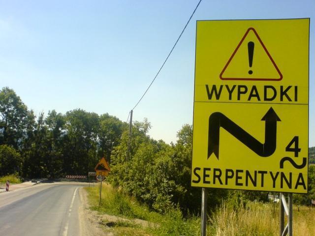Serpentyny w Jordanowie, autor: vanhelsing