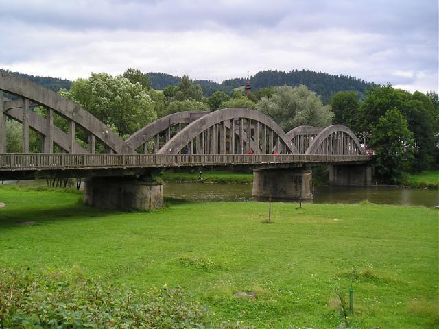 Most nad Dunajcem, autor: olek123