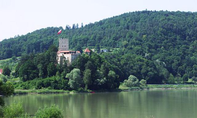 Zamek w Czchowie, autor: olek123