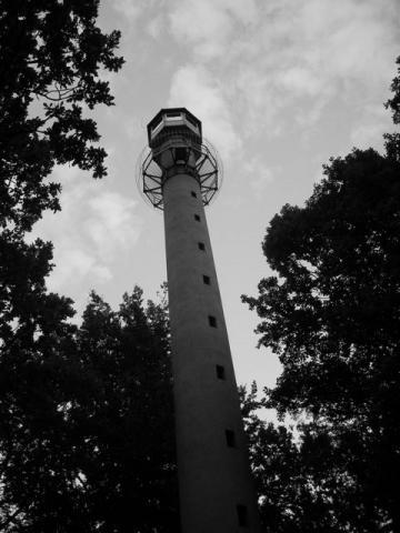 Wieża leśniczego na Wzgórzy Wandy, autor: bikerrr