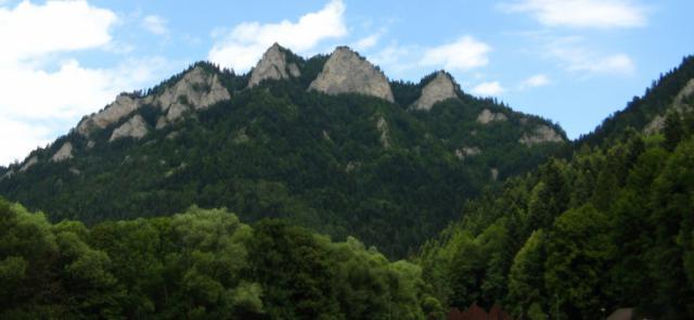 Widok na Trzy Korony, autor: vanhelsing