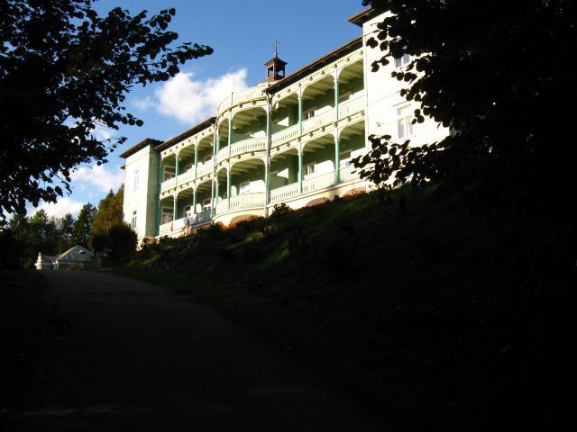 Klasztor w Komańczy., autor: miciu
