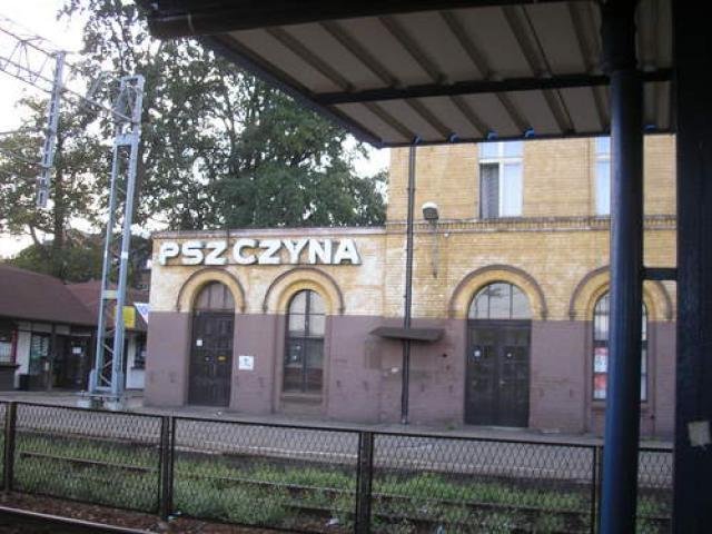 Dworzec w Pszczynie, autor: codecalm