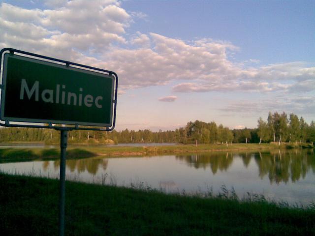 Krajobraz wsi Maliniec, autor: przemko87