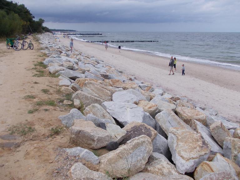 Dobra ścieżka rowerowa wzdłuz wybrzeża., autor: wzmacniacz