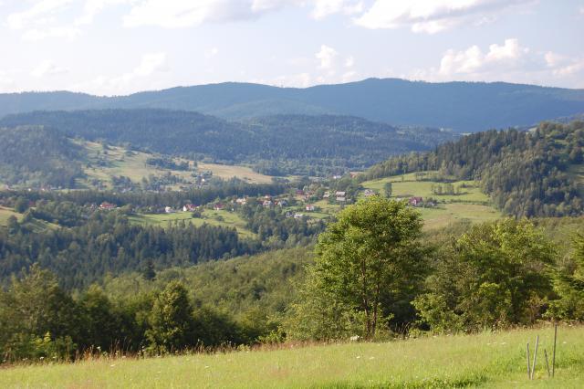 Koszarawa - górski krajobraz, autor: eastern