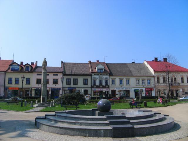 Fontanna na rynku w Kętach, autor: vanhelsing