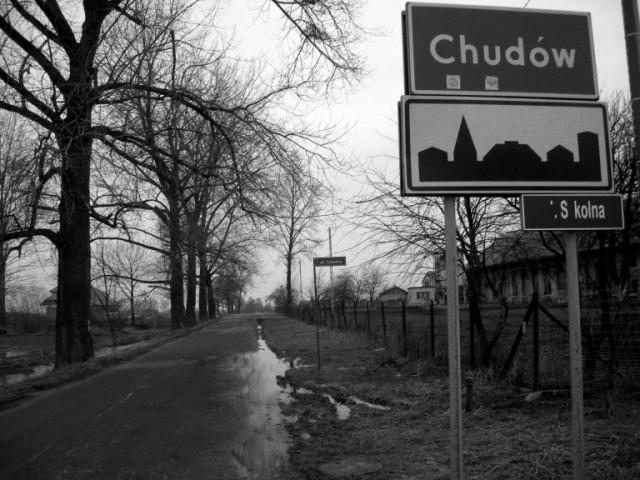 Witamy w Chudowie, ul. Szkolna, autor: bikerrr