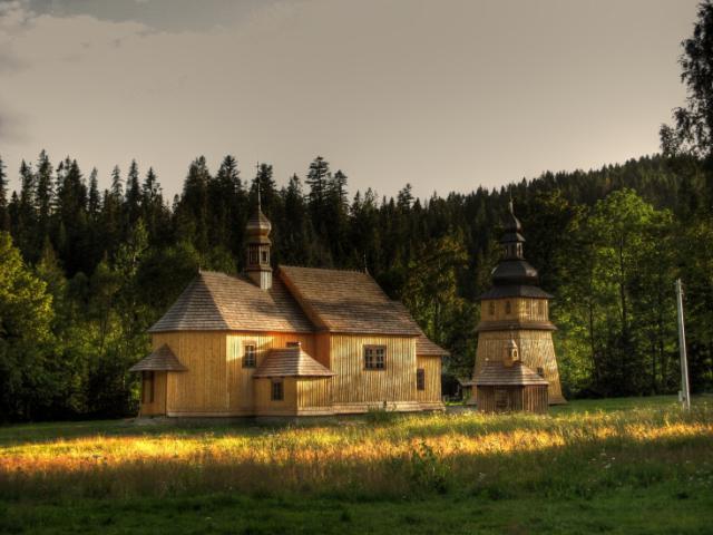 Kościół w Zubrzycy Górnej, autor: vanhelsing