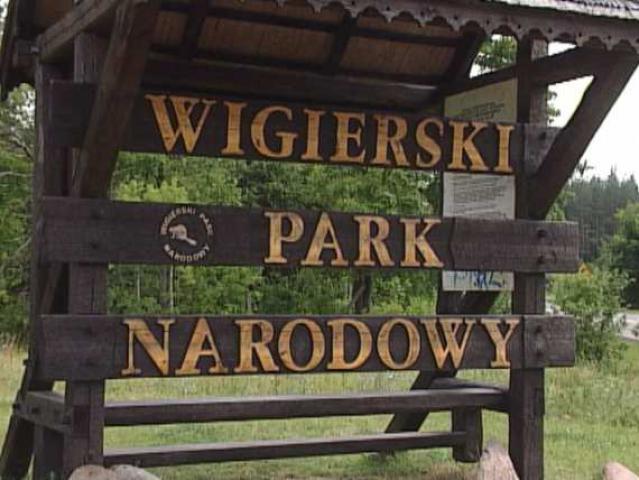 Tablica Wigierski Park Narodowy, autor: przemko87