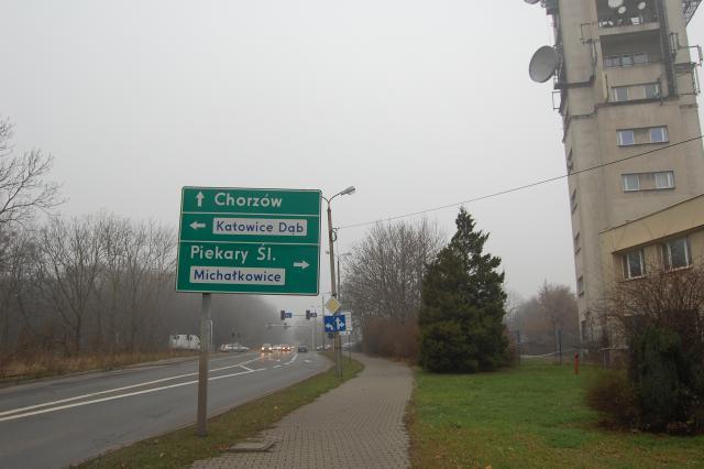 Bytkowska - drogowskaz - MojRower.pl