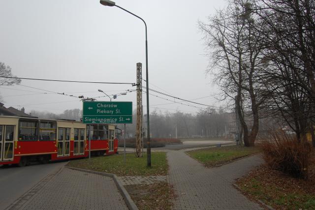 Plac Alfreda - zakończenie aleji Korfantego. - MojRower.pl