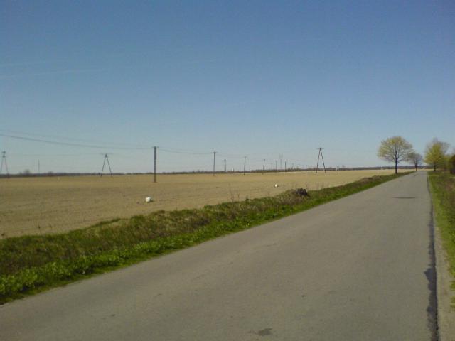 Droga przez pola, autor: azbest87