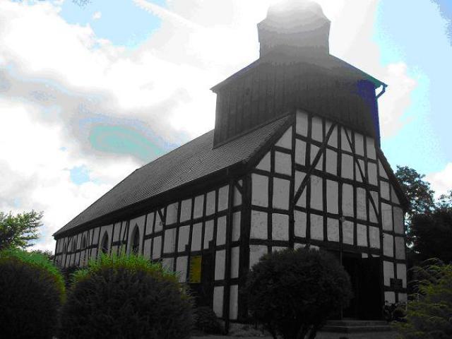 Kościół konstrukcji szachulcowej w Świerznie, autor: yacek