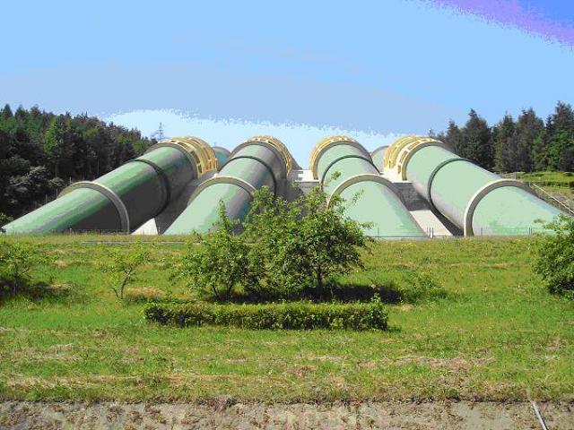 Elektrownia wodna Żarnowiec, autor: yacek