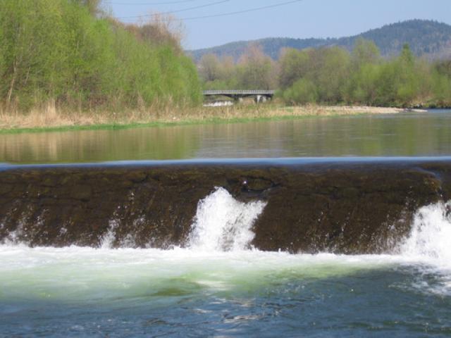 Kaskada rzeki Koszarawy, autor: codecalm