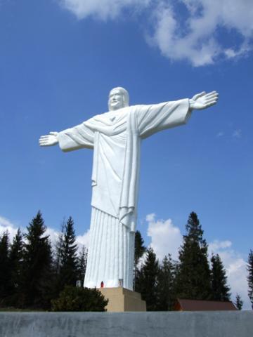 Figura Jezus w Klinie, autor: codecalm