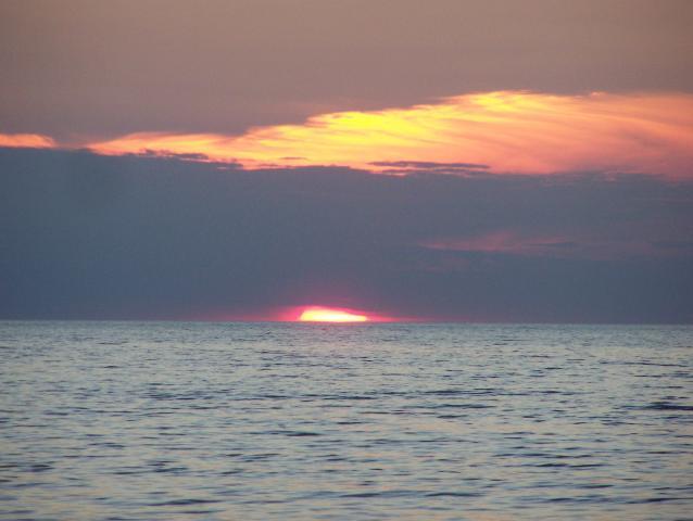 Zachód słońca - MojRower.pl
