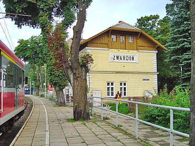 Stacja kolejowa w Zwardoniu, autor: codecalm