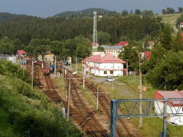 Kolejowe przejście graniczne w Zwardoniu, autor: codecalm