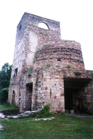 Ruiny pieca hutniczego - MojRower.pl