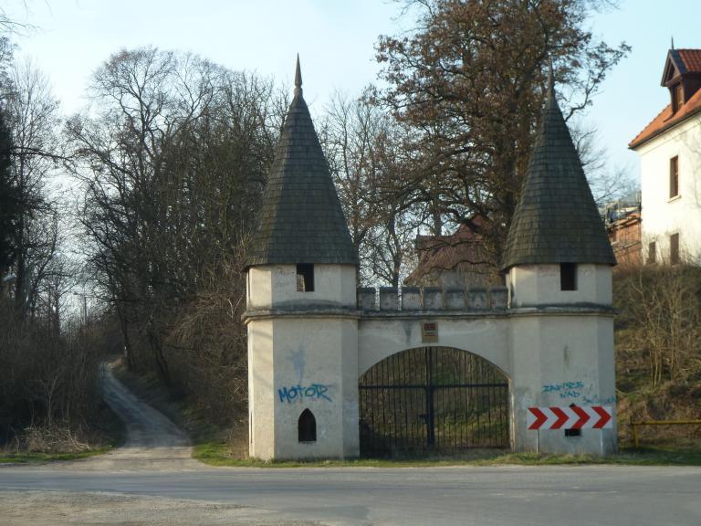 Pałac w Jakubowicach Murowanych., autor: Takik