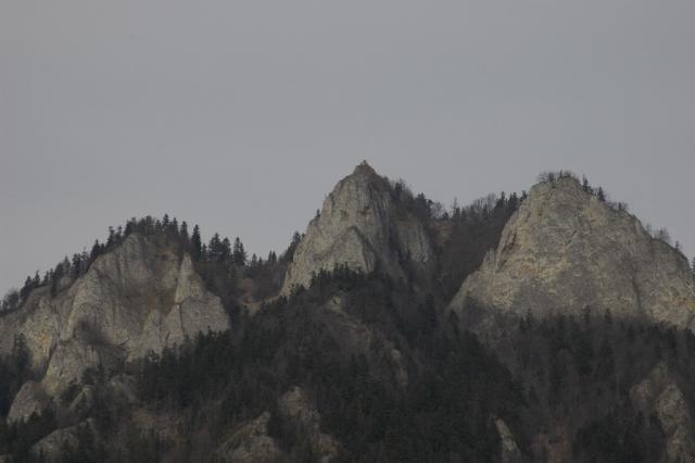 Widok na Trzy Korony spod Czerwonego Klasztoru, autor: docent