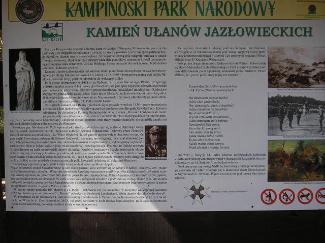 Kamień Ułanów Jazłowieckich, autor: rogal111
