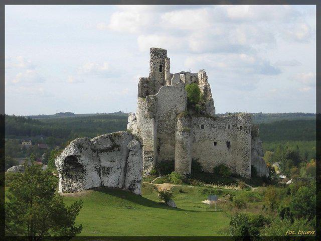 Zamek w Mirowie, autor: ryba5374