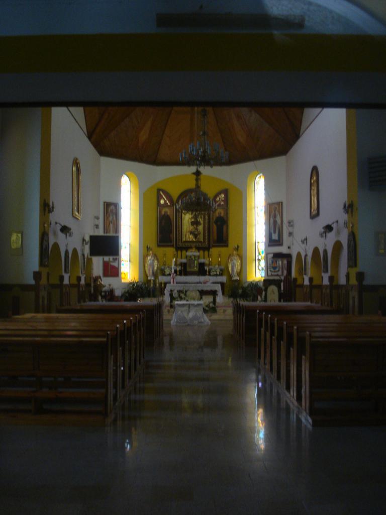 Wnętrze kościoła w Siedliszczu, autor: makow
