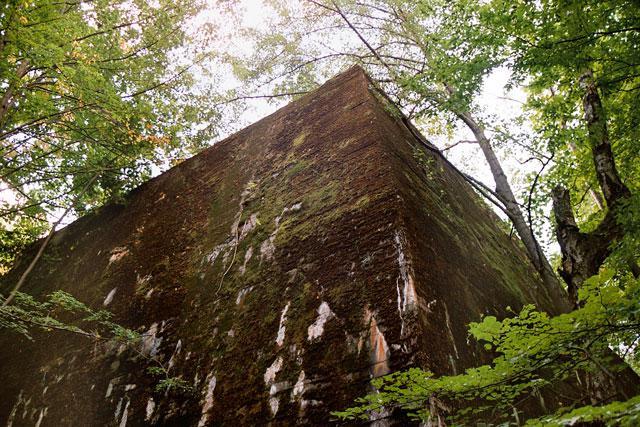 Jeden z bunkrów w Wilczym Szańcu - MojRower.pl