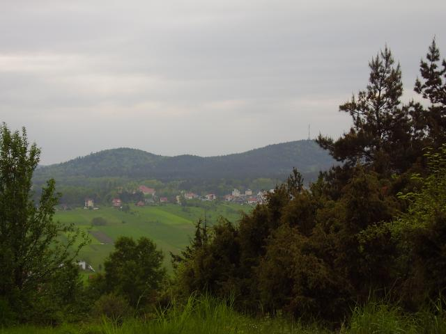 Telegraf widziany z Góry mójeckiej - MojRower.pl
