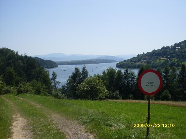 Jezioro Żywieckie - okolice, autor: eastern