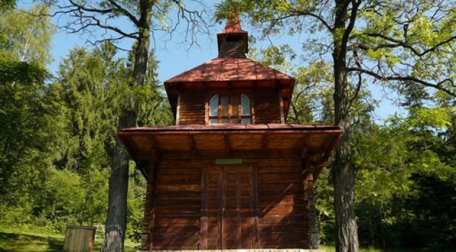 Kapliczka w Węgierskiej Górce, autor: codecalm