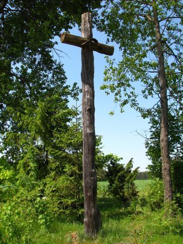 Stary krzyż, autor: gumer