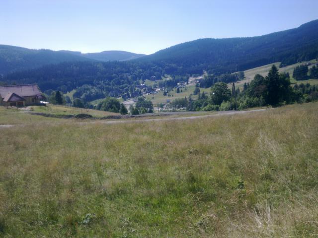 Sienna - widok z przeł. Puchaczówka 860 m npm., autor: wiesiek