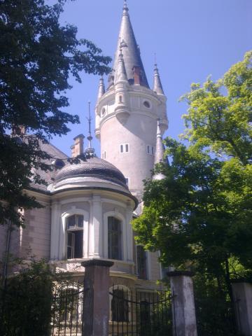 Zaniedbany pałac w Bożkowie, autor: wiesiek