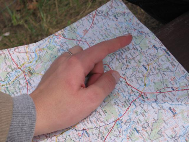 Mapa - MojRower.pl