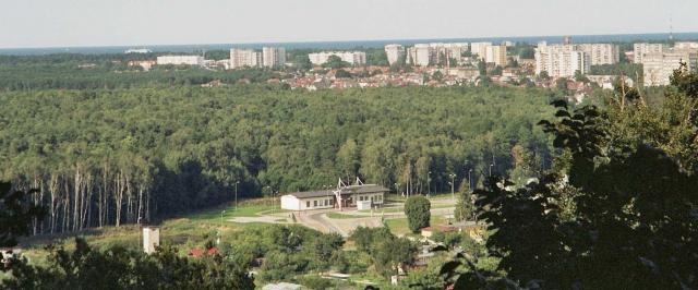 Panorama Świnoujścia, autor: jaca