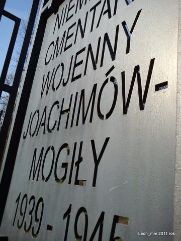Cmentarz Joachimów - Mogiły, autor: leon_mm