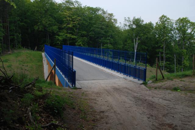 Kładka nad Trasą Kwiatkowskiego, autor: rafal_gd