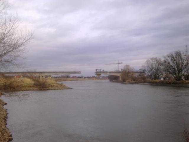 Łany - budowa mostu na Wschodniej Obwodnicy Wrocławia, autor: wiesiek