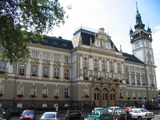 Ratusz w Bielsku-Białej - obecna siedziba władz miasta, autor: codecalm
