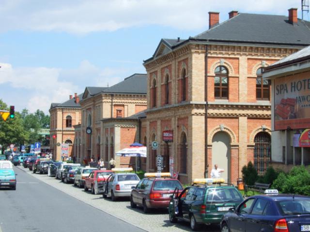 Dworzec kolejowy w Bielsku-Białej, autor: codecalm