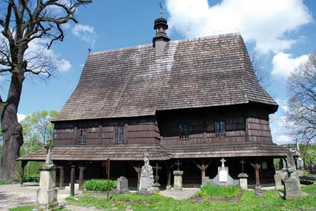 Kościół pw. św. Leonarda - Lipnica Murowana - MojRower.pl