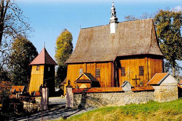 Kościół pw. Narodzenia Najświętszej Marii Panny - Rajbrot- R - MojRower.pl