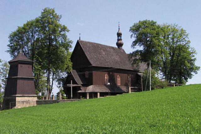 Kościół pw. Wszystkich Świętych - Sobolów - MojRower.pl