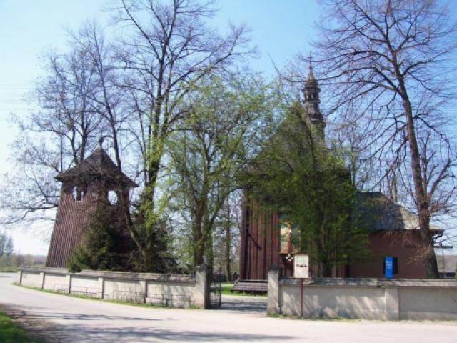 Kościół parafialny p.w. św. Joachima w Krzyżanowicach - MojRower.pl
