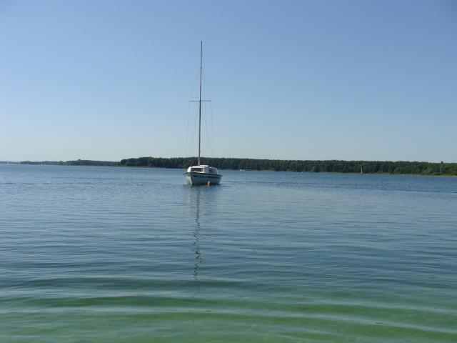 Widok na jezioro, autor: kiklop